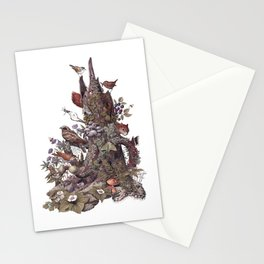 Stump (no labels) Stationery Cards