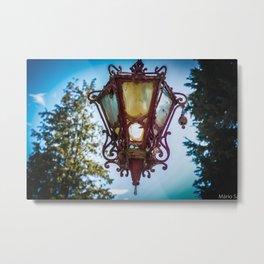 The lamp Metal Print