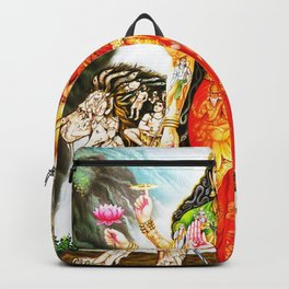 Hindu Durga 3 Backpack