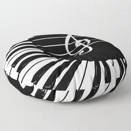 Piano Keys I Floor Pillow