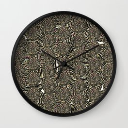 Cabbagy Wall Clock