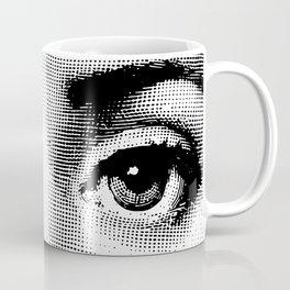 Lina Cavalieri - left eye Coffee Mug