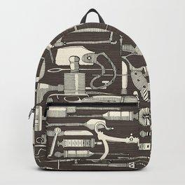 fiendish incisions dark Backpack
