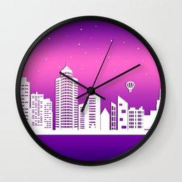 City Stars XXI Wall Clock