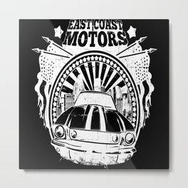 East Coast Motor Garage Metal Print