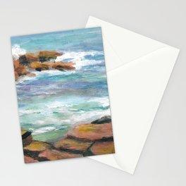 Cape Neddick Maine Coastline Stationery Cards