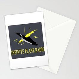 Infinite Plane Radio Stationery Cards