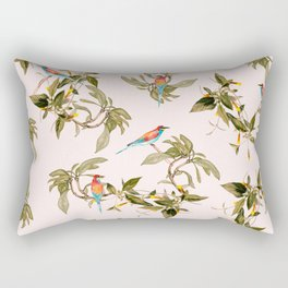 Birds in habitat Rectangular Pillow