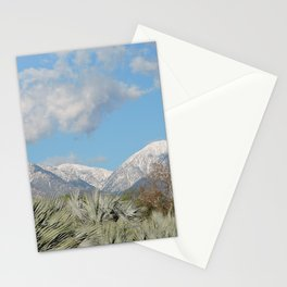 From Chaparral To Snow Stationery Cards