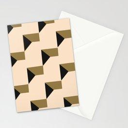 Papercut geometric pattern Stationery Cards