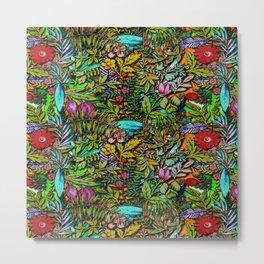 Colorful Bush Metal Print