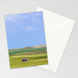 Fading into the Prairie, Near Carlyle, Montana Stationery Cards