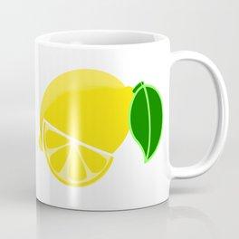 Lemon & Slice Coffee Mug
