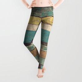 Wooden Vintage Leggings
