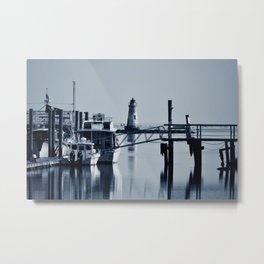 The Old Tybee Island Lighthouse Metal Print