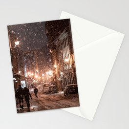 New York Snow Stationery Cards
