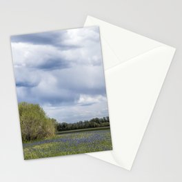 Field of Camas and Dandelions, No. 2 Stationery Cards