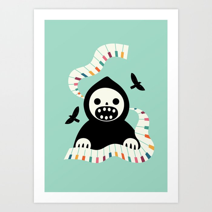 Discover the motif DESTINY MOVEMENT by Andy Westface as a print at TOPPOSTER