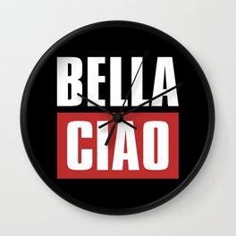BELLA CIAO Wall Clock