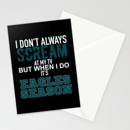 Eagles Season Stationery Cards