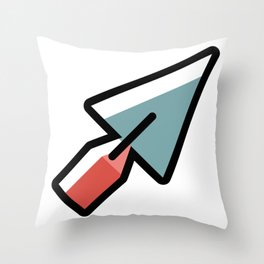 Bricklayer Trowel Cute Gift Idea Throw Pillow