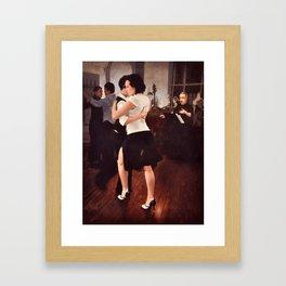 Tango Reunion Framed Art Print