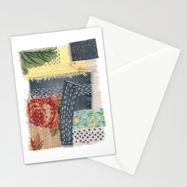 Boro Kantha Textile Art 001 Stationery Cards