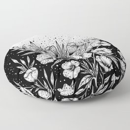 Moon Greeting Floor Pillow