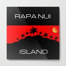 Rapa Nui Island Metal Print
