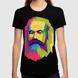 Karl Mark pop art  T-shirt