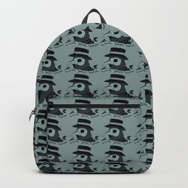 Plague doctor art mask drawing aesthetic  Backpack