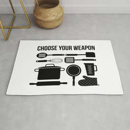 Choose Your Weapon - Baker Rug