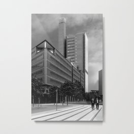 Marlene Dietrich Platz and Two Suits Metal Print