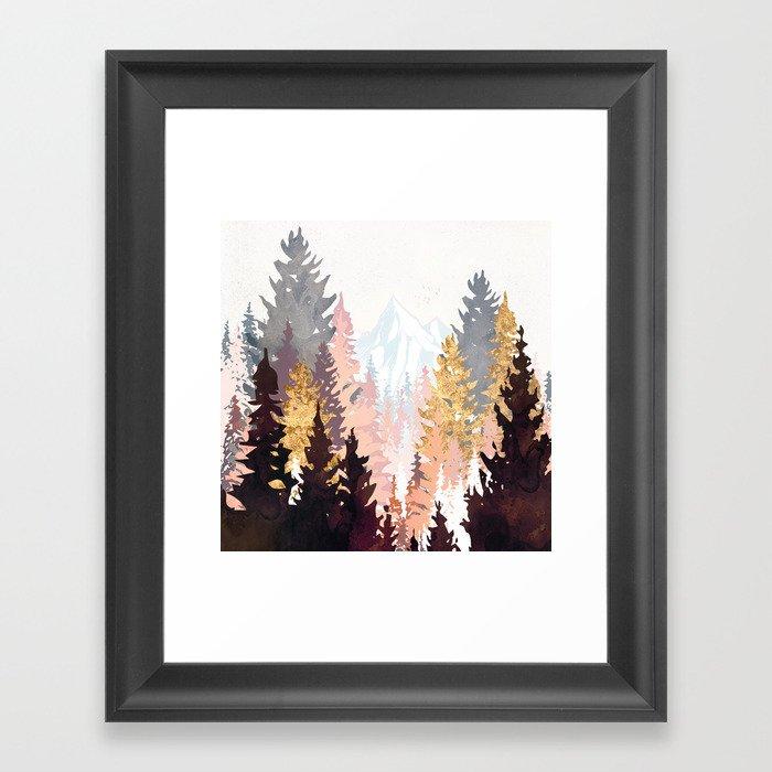 Wine Forest Gerahmter Kunstdruck