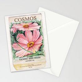 Cosmos Seed Packet Stationery Cards