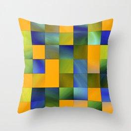 square pattern colorvariation -1- Deko-Kissen