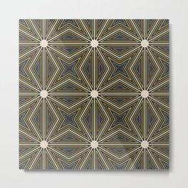 Bright Tone Pattern Metal Print