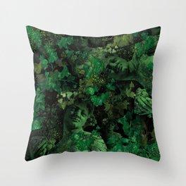 Dionysus God of wine Throw Pillow