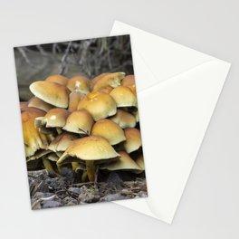 Sulphur Tuft fungi Stationery Cards
