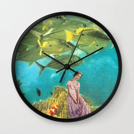 'It's Lonely Down Here' // Under the Sea Wall Clock