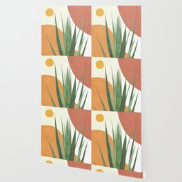 Abstract Agave Plant Wallpaper