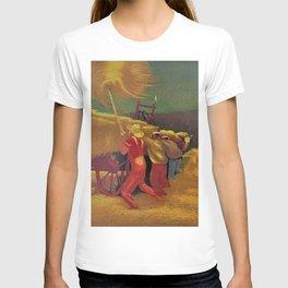 Classical Masterpiece 'Race Against the Rain' by Bernard J. Steffen T-shirt