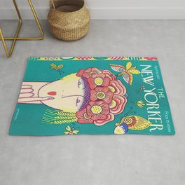 Vintage New Yorker Cover - Circa 1927 Rug