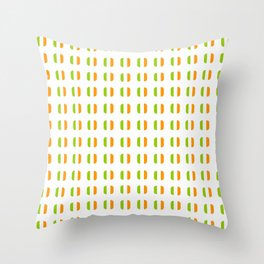 flag of ireland - with soft square Throw Pillow