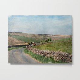 Country Lane - Old Howarth Road Metal Print