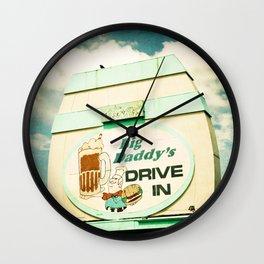 Big Daddy's drive in Wall Clock