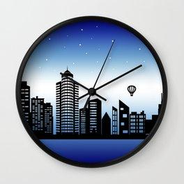 City Stars V Wall Clock