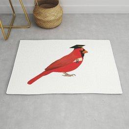 Graduation Cardinal Rug