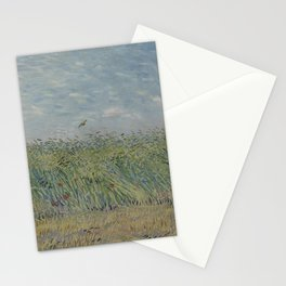 Wheatfield with Partridge Stationery Cards