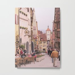 Rothenburg ob der Tauber Bavaria Metal Print